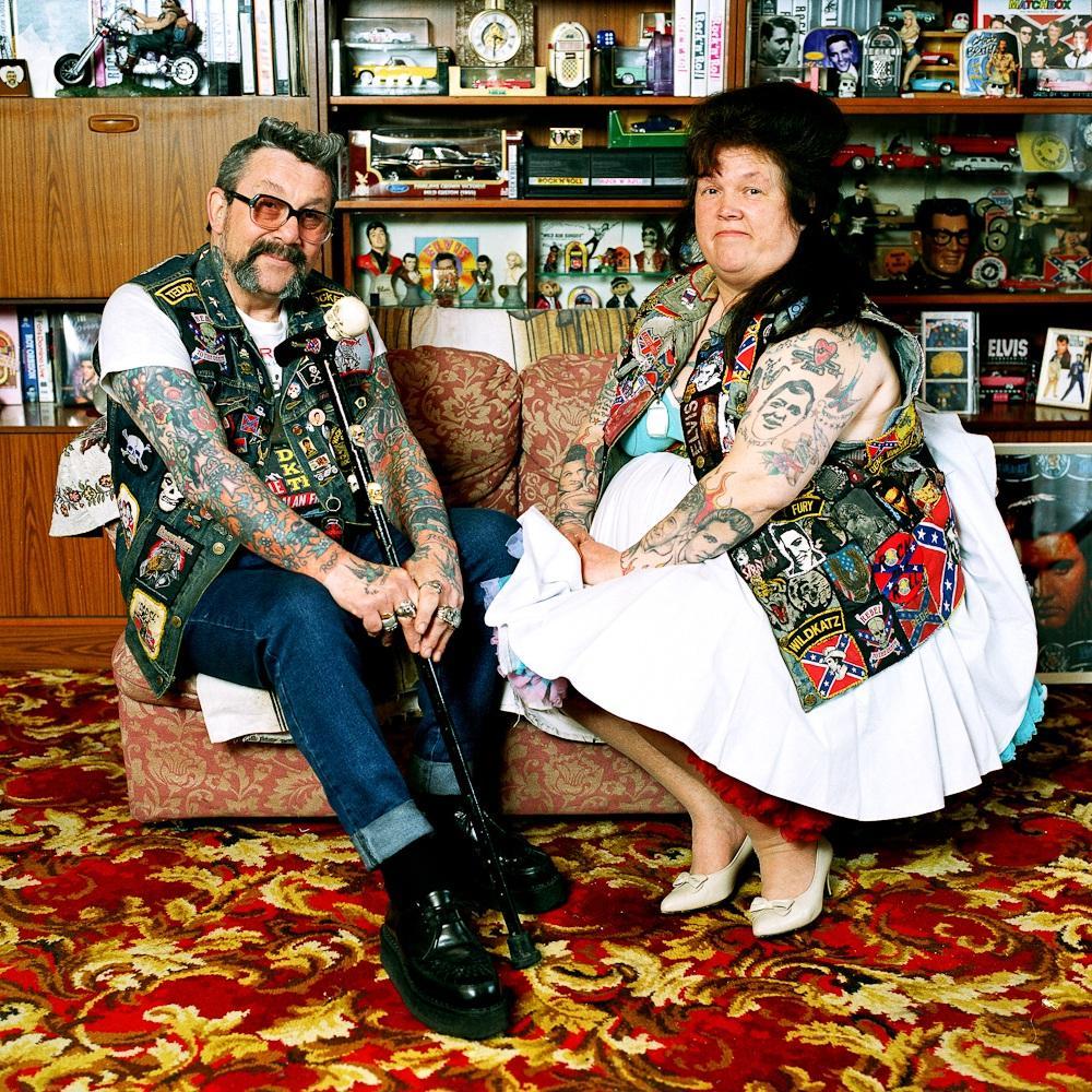2. Мик и Пэгги Варнер. Лондонские панки из 1970-х