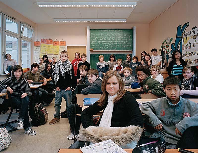 2. Германия. Школа Agnes-Miegl-Realschule в Дюссельдорфе.
