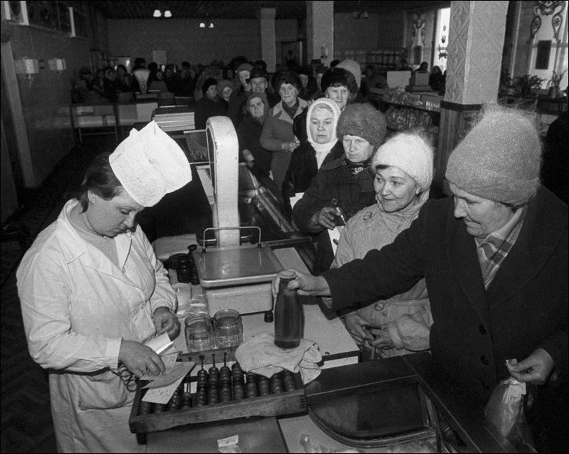 shortage18 Дефицит товаров в 80 90х годах