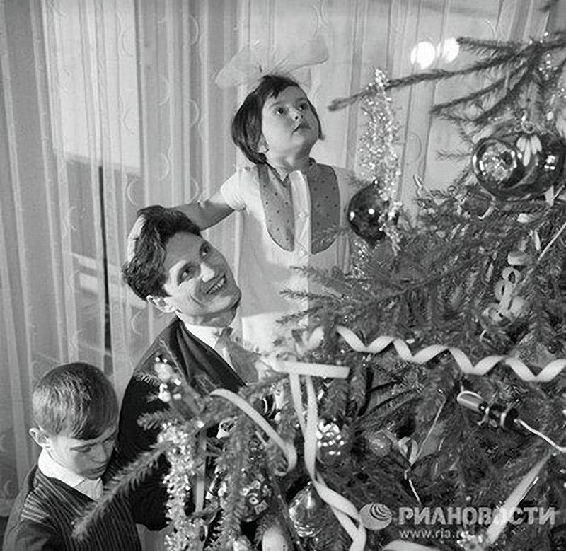 Новый год в советском союзе картинки