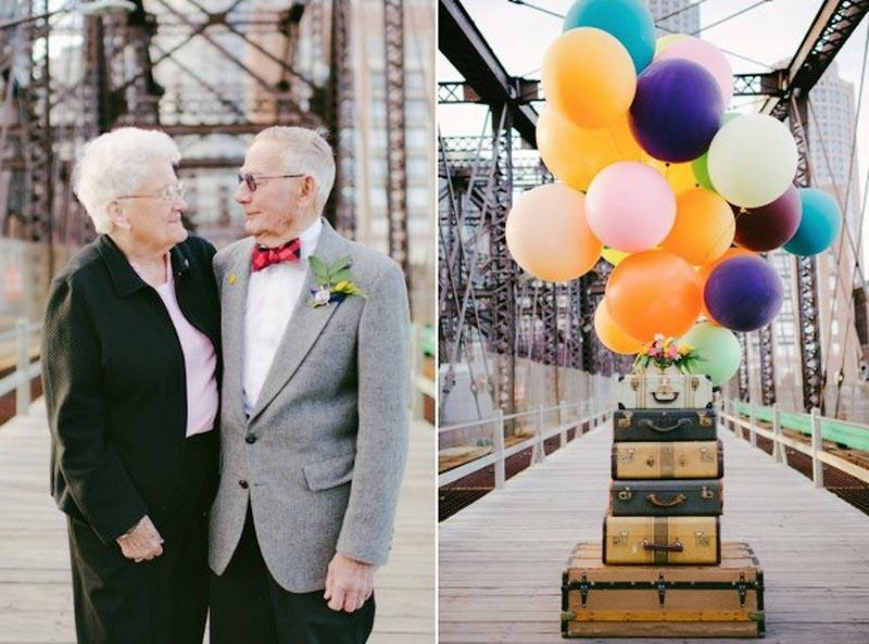 up themed anniversary 4 Трогательная Love Story к годовщине свадьбы