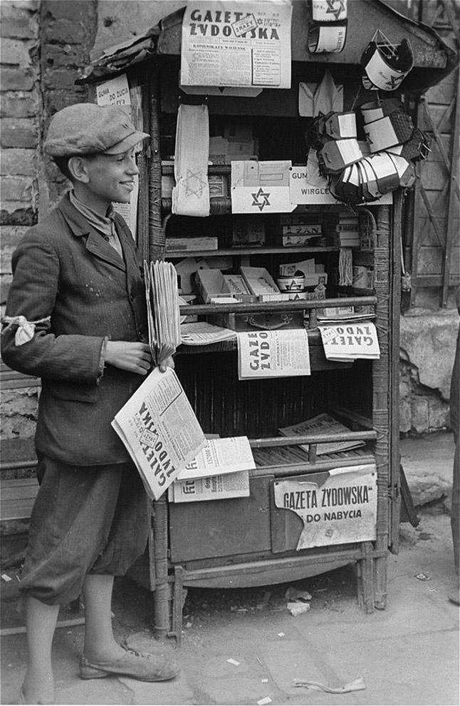 warsawgetto01 Запретные фотографии : Варшавское гетто летом 1941 года