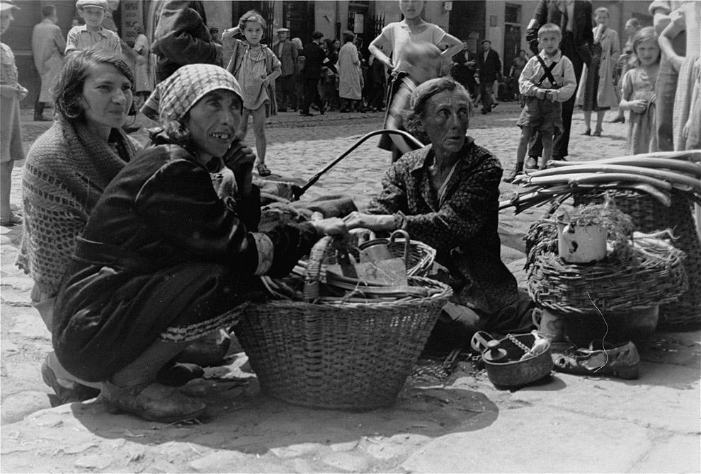 Варшавское гетто летом 1941 года 32 фото