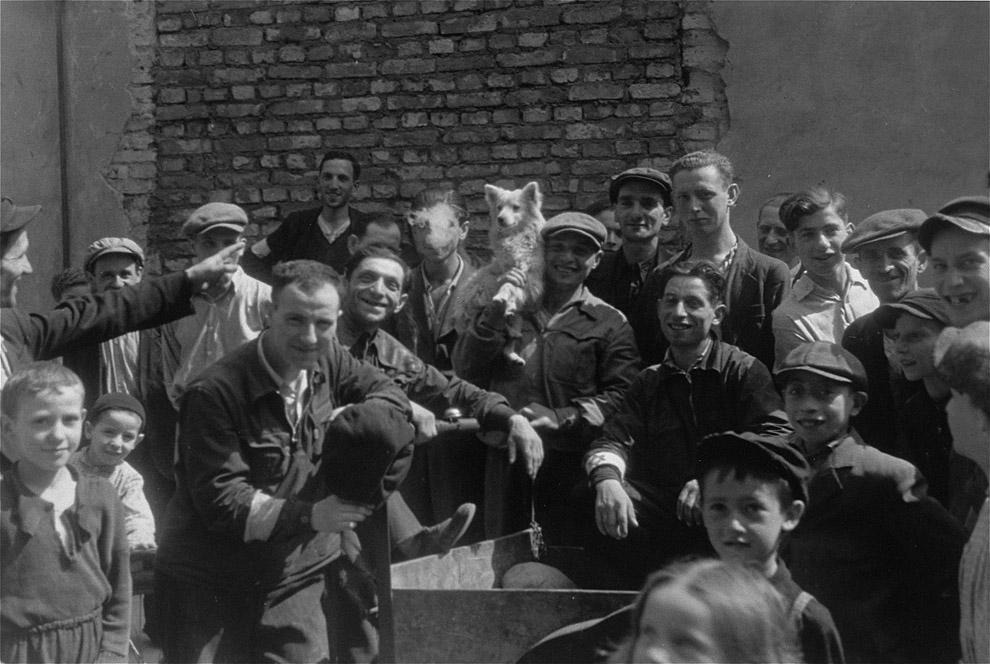 Варшавское гетто летом 1941 года фото