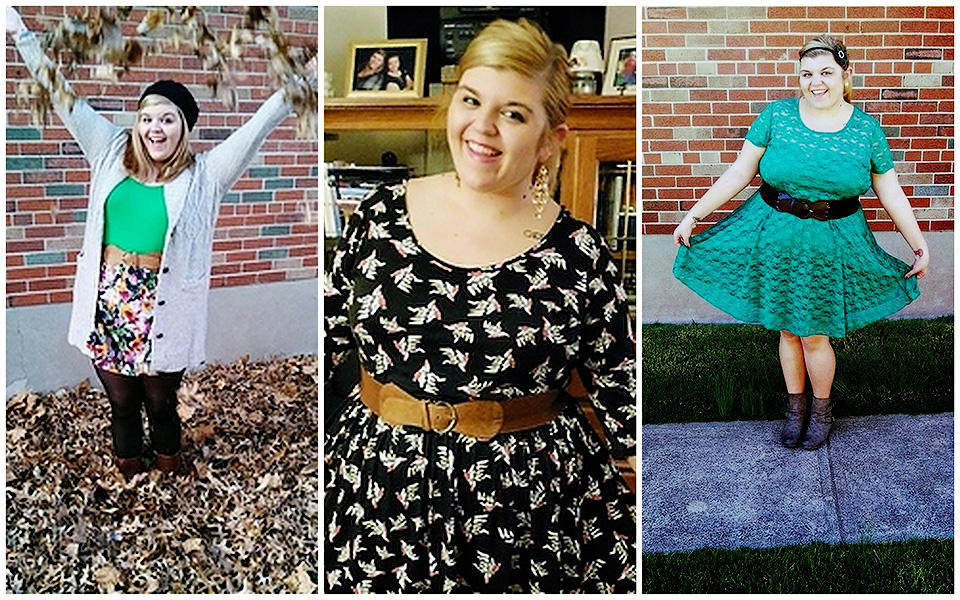 Яркие принты и килограммы лишнего веса - модные толстушки призывают любить свое тело.