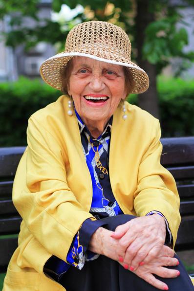 18. Дагмара Александровна, 97 лет. Москва.