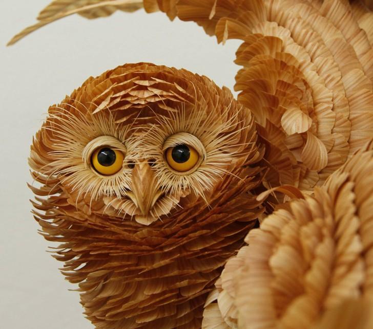Bobkov00 Сибирский мастер создает удивительные скульптуры из дерева