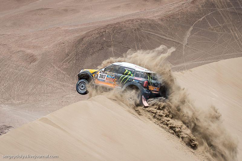 Dakar.ChiliDesert00 Дакар 2014. Опасные гонки в чилийской пустыне
