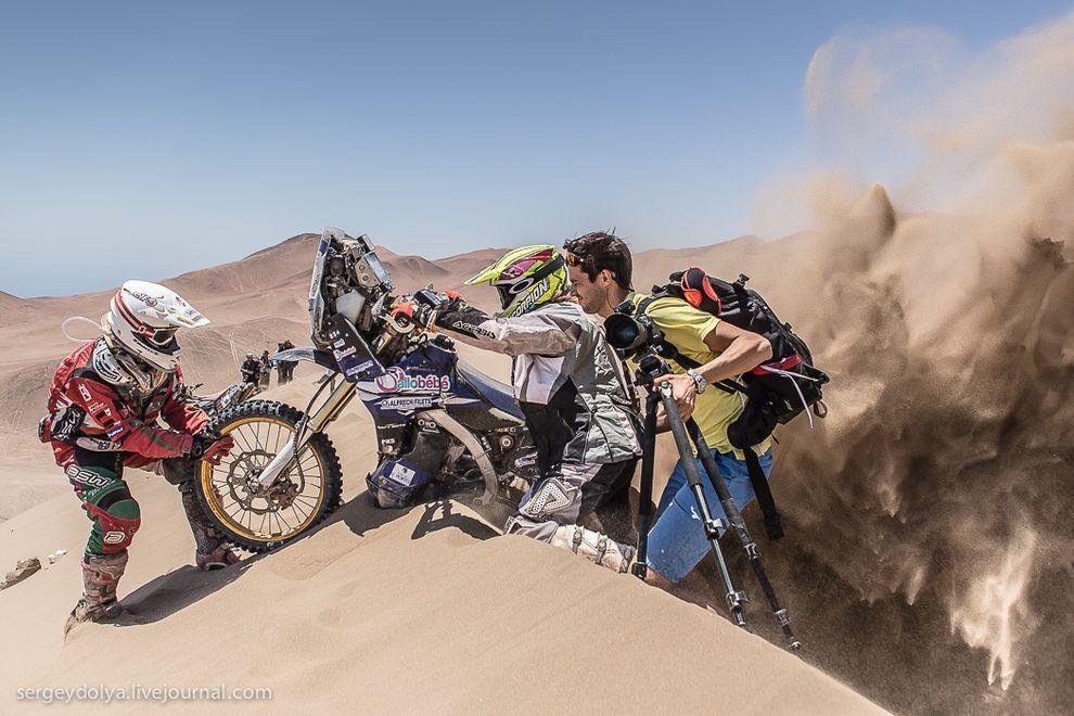 Dakar.ChiliDesert01 Дакар 2014. Опасные гонки в чилийской пустыне