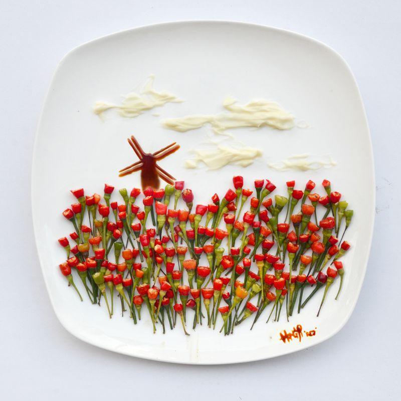 HongYi22 Маленькое чудо в тарелке