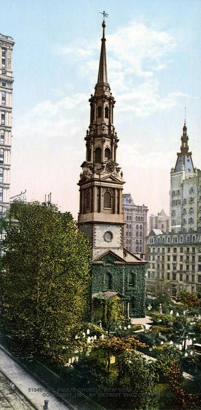NY1900color08 Нью Йорк 1900 года в цвете