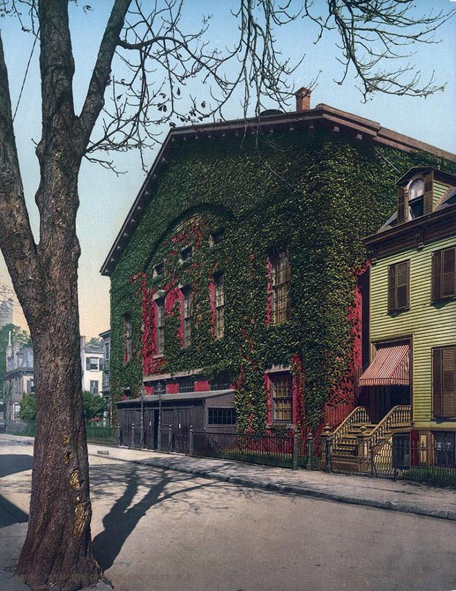 NY1900color35 Нью Йорк 1900 года в цвете