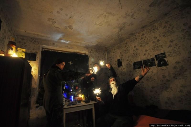 Новый год 2014 в Чернобыльской Зоне отчуждения. Город Припять