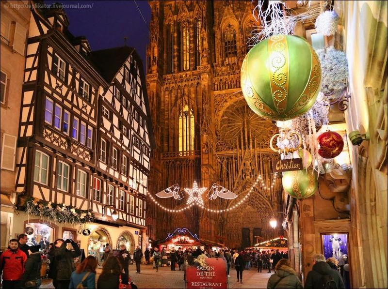 Strasbourg28 800x597 Как выглядит Столица Рождества