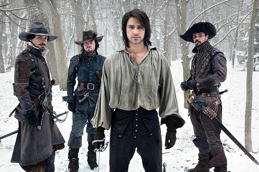 The Musketeers First Look 1 20 главных зарубежных сериалов 2014 года