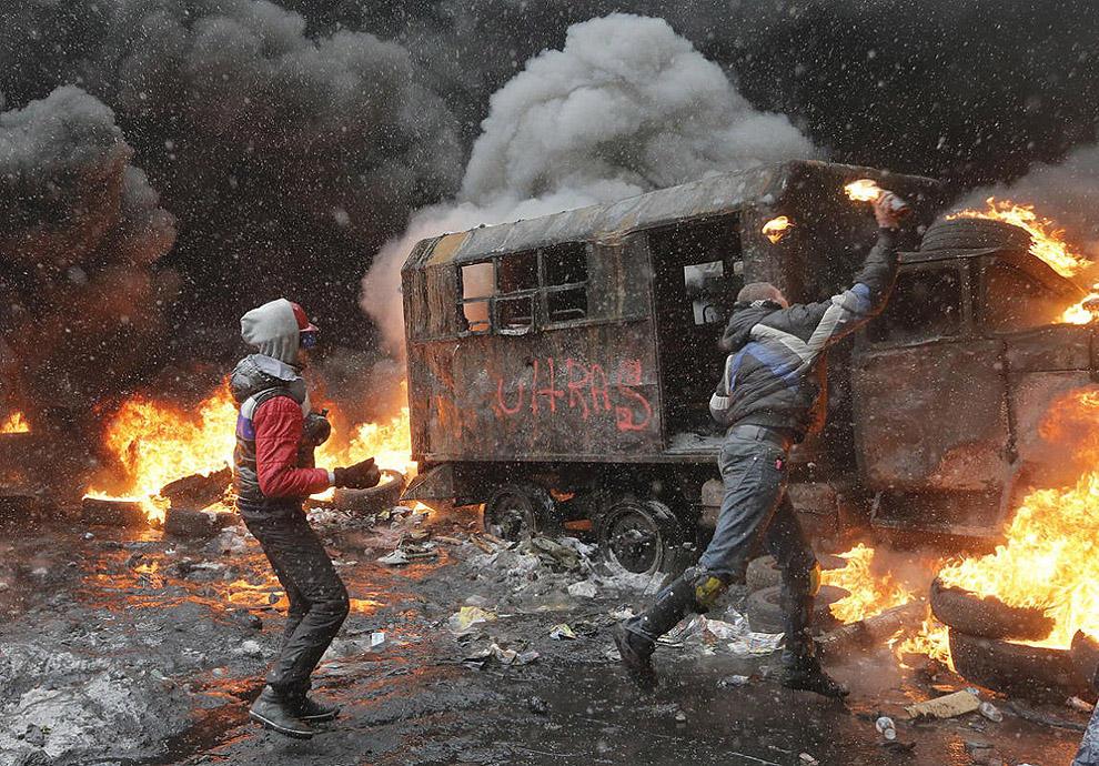 Uariot07 Самые невероятные и удивительные фотографии противостояния в Украине