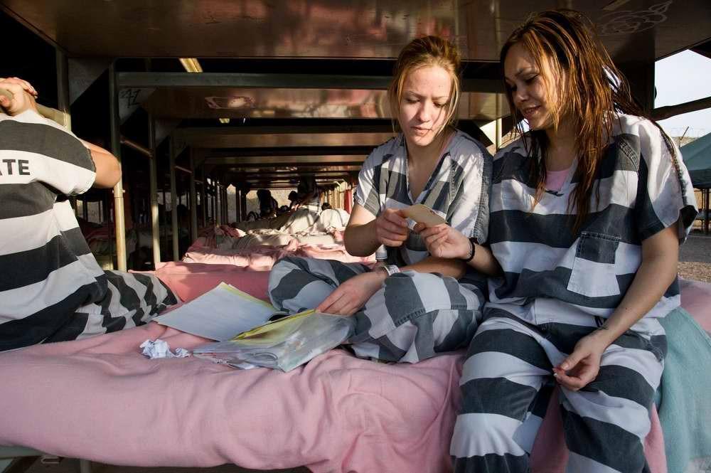 Картинки женщины в тюрьме