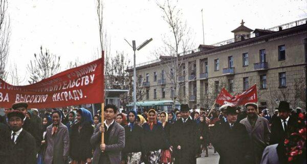 Советский Узбекистан в 1966году