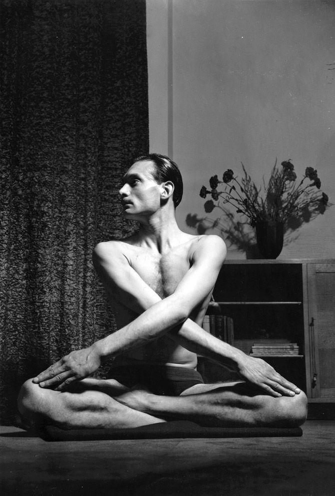 VintageYoga03 Какой была йога в прошлом веке: любопытные винтажные фото