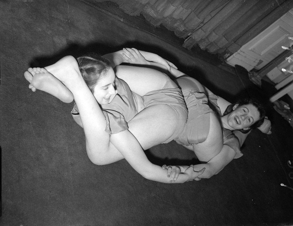 VintageYoga05 Какой была йога в прошлом веке: любопытные винтажные фото