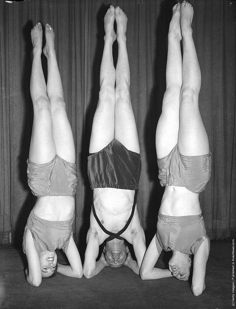 VintageYoga07 Какой была йога в прошлом веке: любопытные винтажные фото