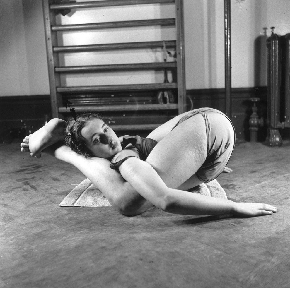 VintageYoga10 Какой была йога в прошлом веке: любопытные винтажные фото