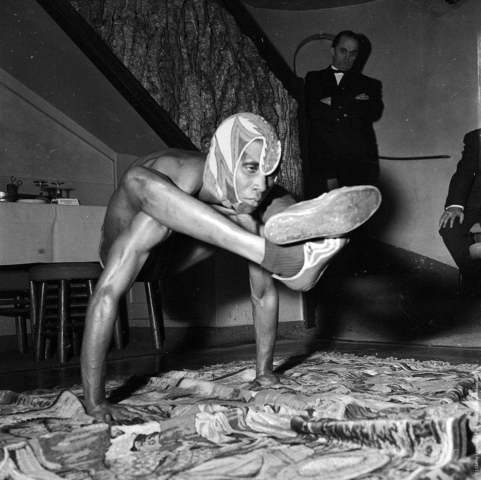 VintageYoga11 Какой была йога в прошлом веке: любопытные винтажные фото