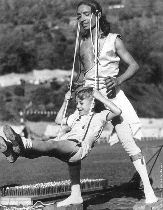 VintageYoga12 Какой была йога в прошлом веке: любопытные винтажные фото