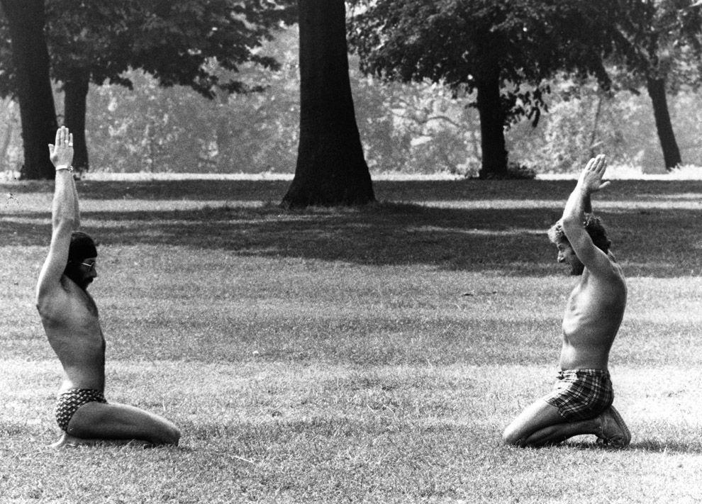 VintageYoga15 Какой была йога в прошлом веке: любопытные винтажные фото