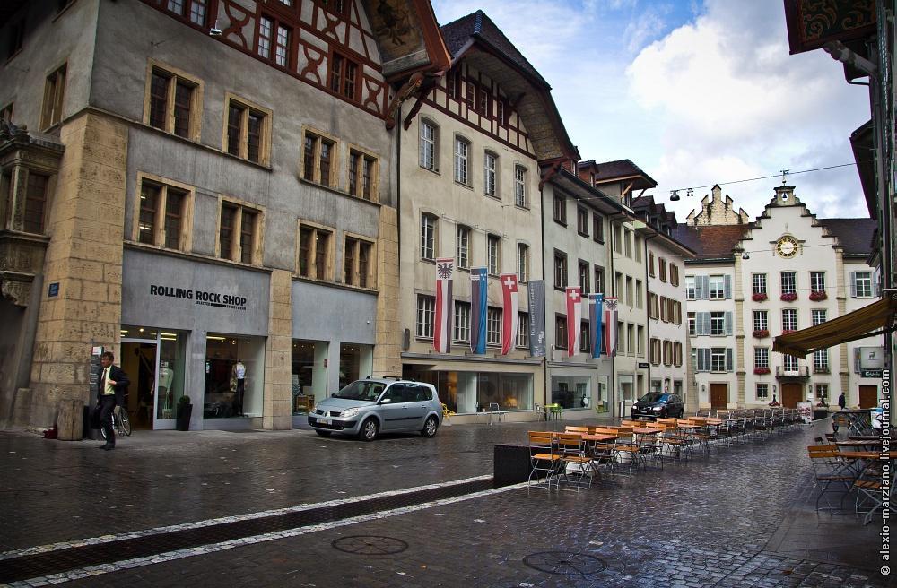 aarau01 Арау: где живут обычные швейцарцы