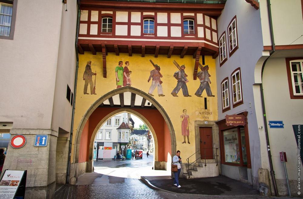 aarau30 Арау: где живут обычные швейцарцы