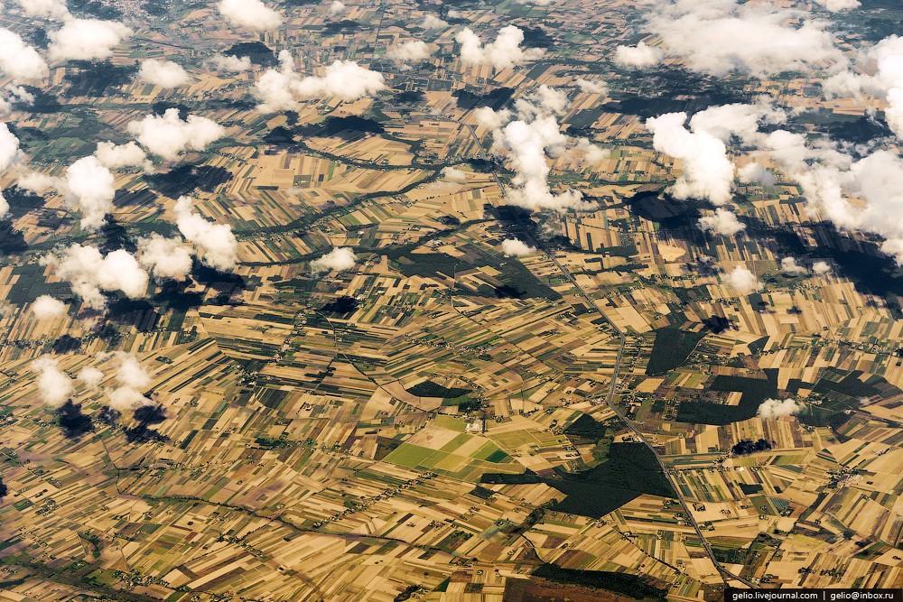 aerophoto31 Фотографии из окна самолёта 2013