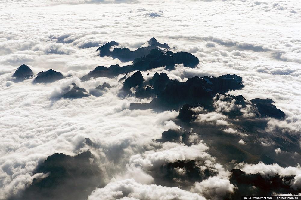 aerophoto42 Фотографии из окна самолёта 2013