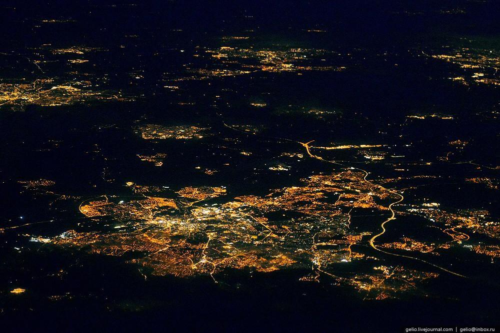 aerophoto47 Фотографии из окна самолёта 2013