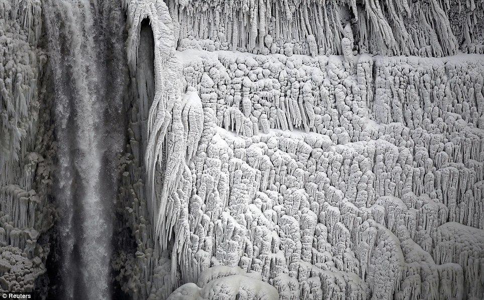 article 0 1A81C4FB00000578 191 964x599 10 завораживающих фото замерзшего Ниагарского водопада