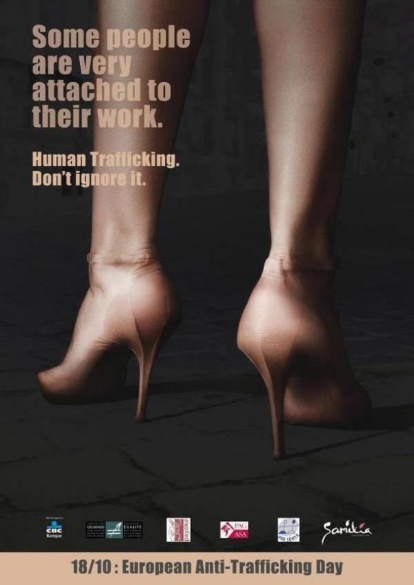 2. Некоторые люди очень сильно привязаны к своей работе. Торговля людьми - не игнорируй эту проблему!
