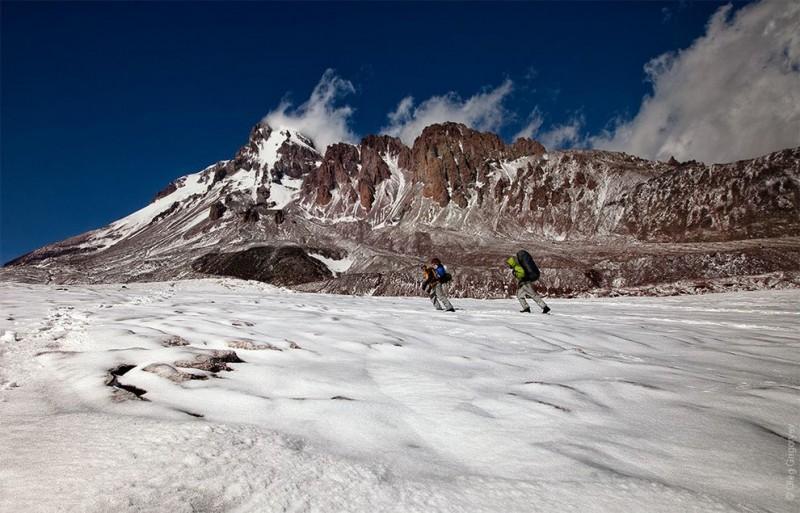climbingkazbek45 800x513 Грузия. Восхождение на Казбек