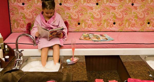 Спа для маленьких девочек