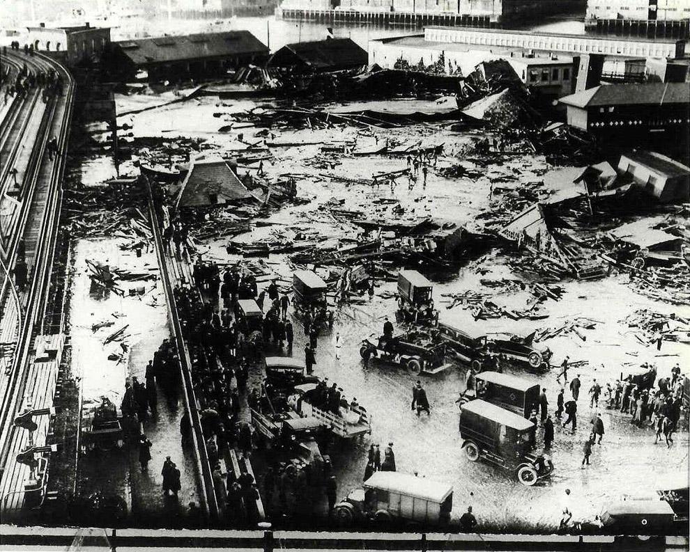 molasses08 10 впечатляющих фото сахарного потопа в Бостоне