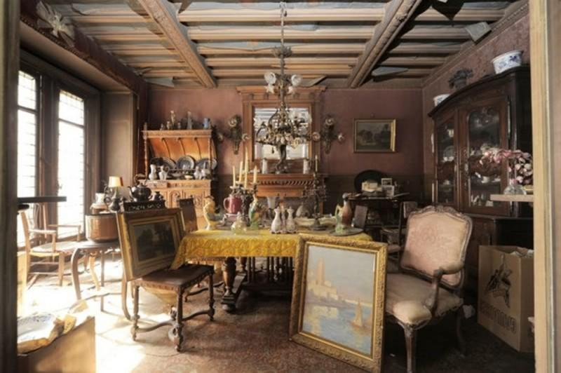 parisapt01 800x532 В Париже нашли квартиру, нетронутую более 70 лет