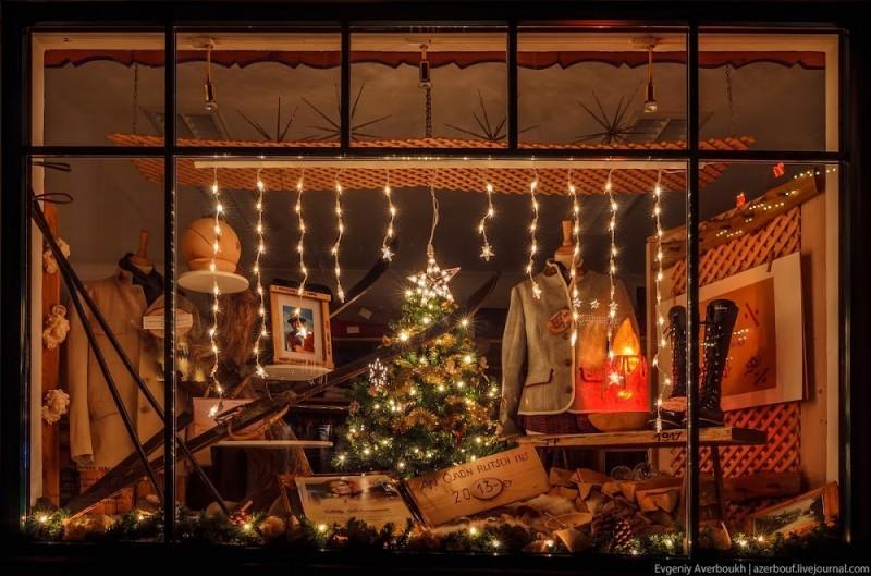 sanktgilgen01 800x529 Рождественская сказка Австрии. Ночные огоньки Санкт Гильгена