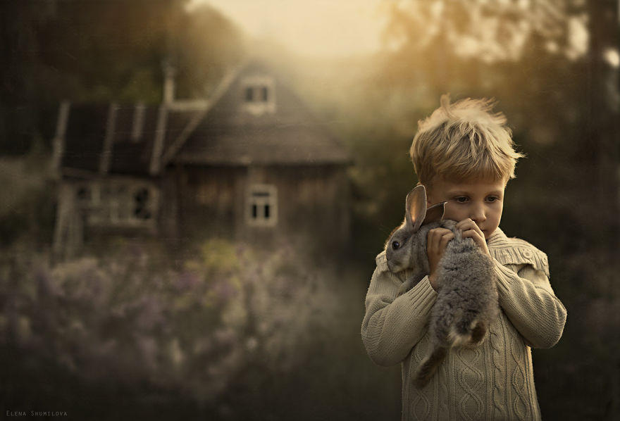 shumilova10 Лучший фотопроект января: удивительные портреты детей, сделанные их мамой