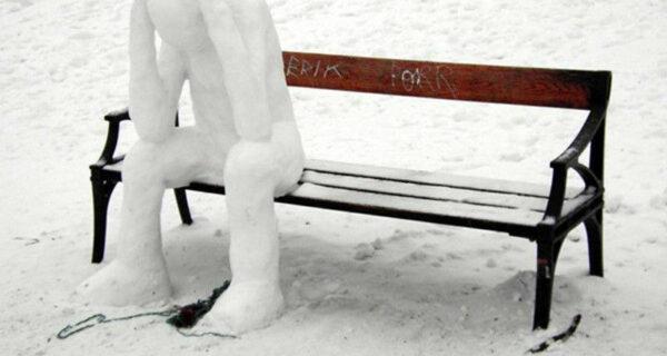 20 примеров того, что еще, кроме снеговика, можно слепить изснега