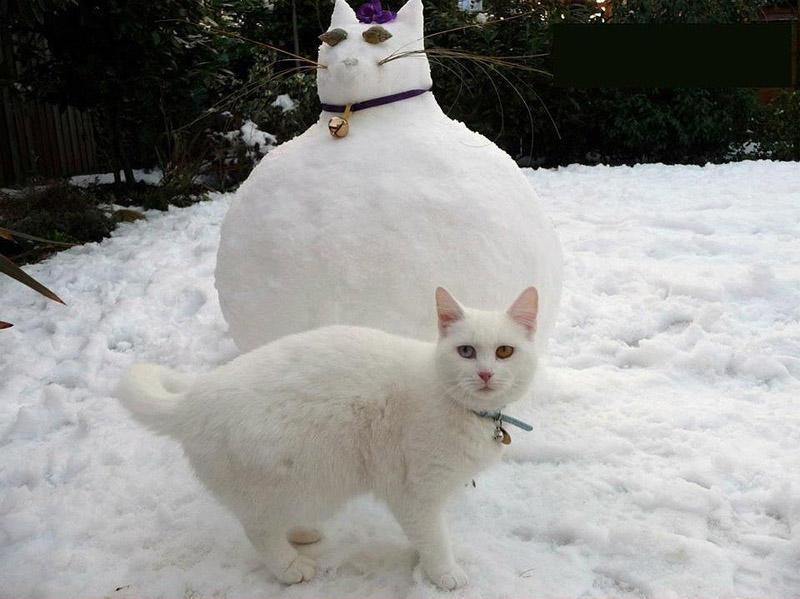 이러한 다른 눈사람 snowmen09