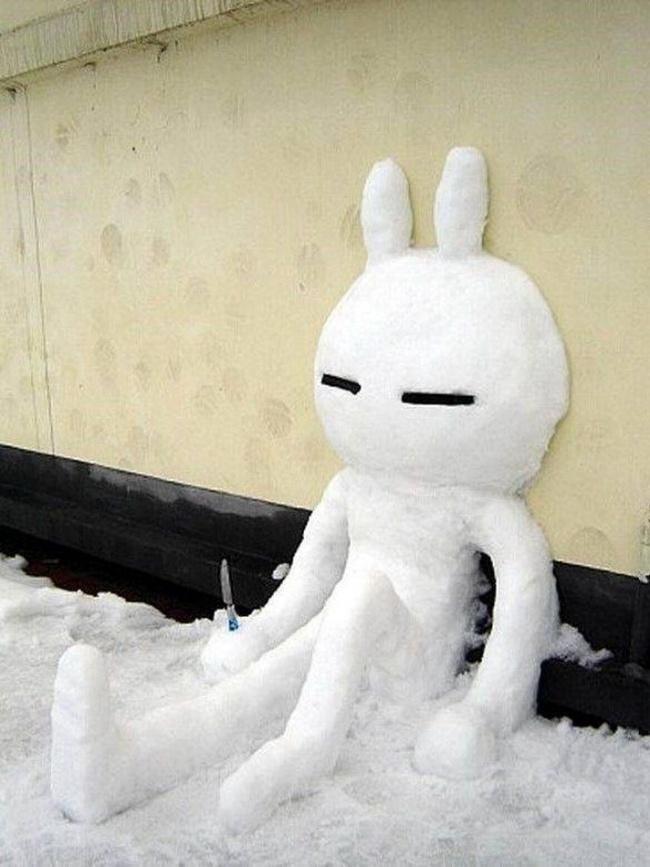 이러한 다른 눈사람 snowmen10