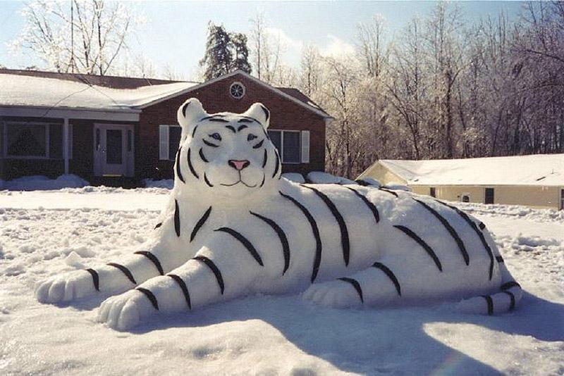 이러한 다른 눈사람 snowmen14