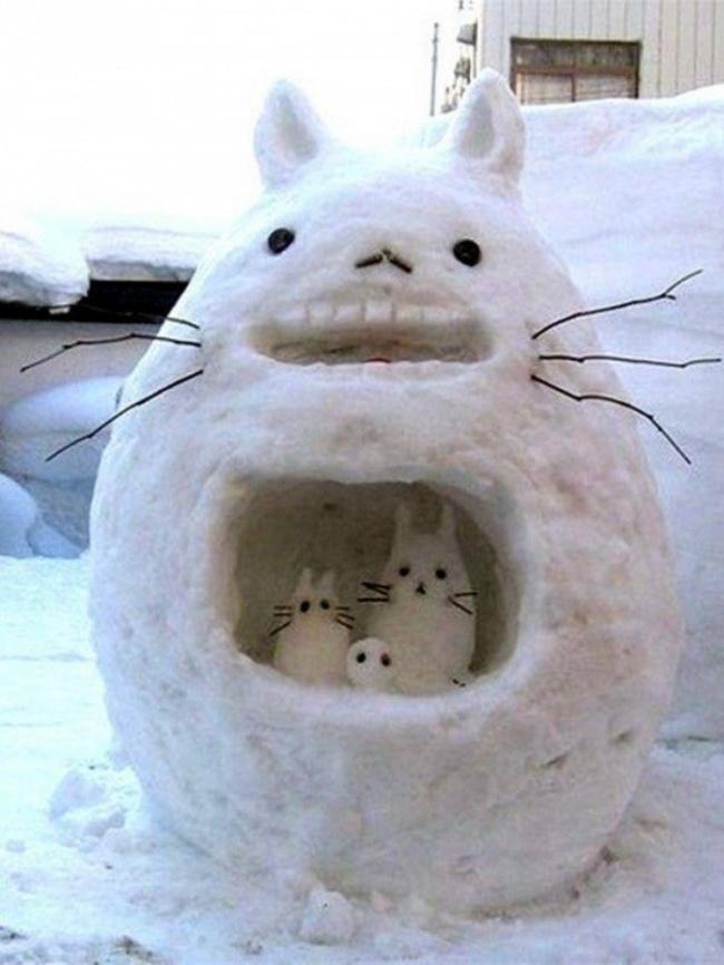 이러한 다른 눈사람 snowmen15