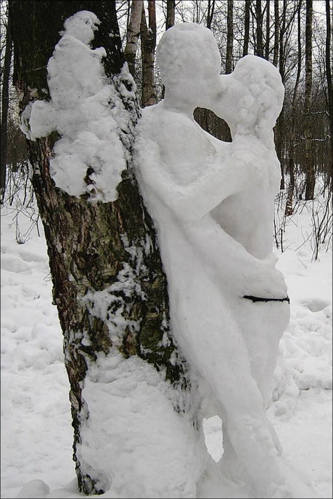 이러한 다른 눈사람 snowmen18