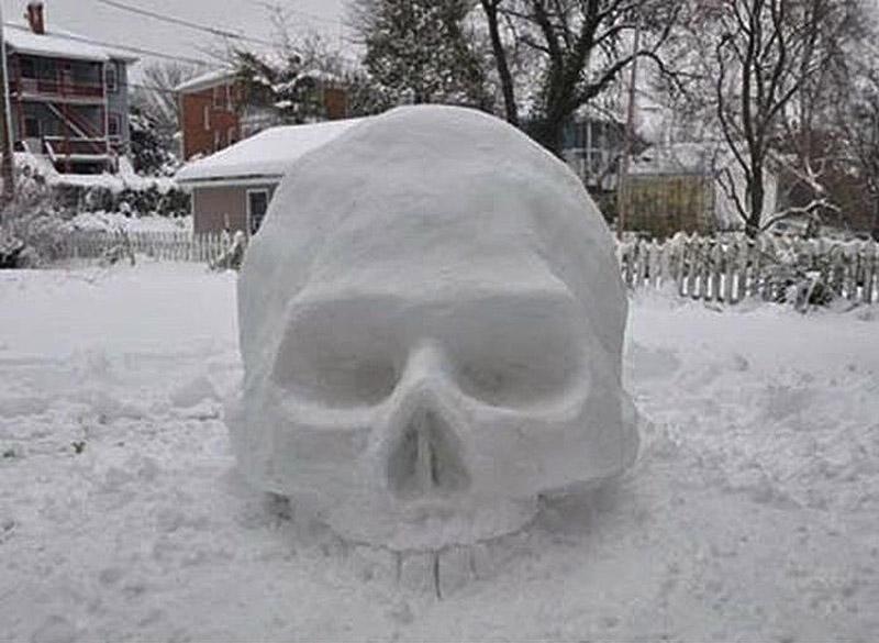이러한 다른 눈사람 snowmen19