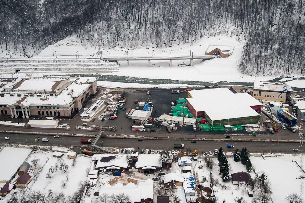 sochi08 Как выглядят Олимпийские объекты с воздуха